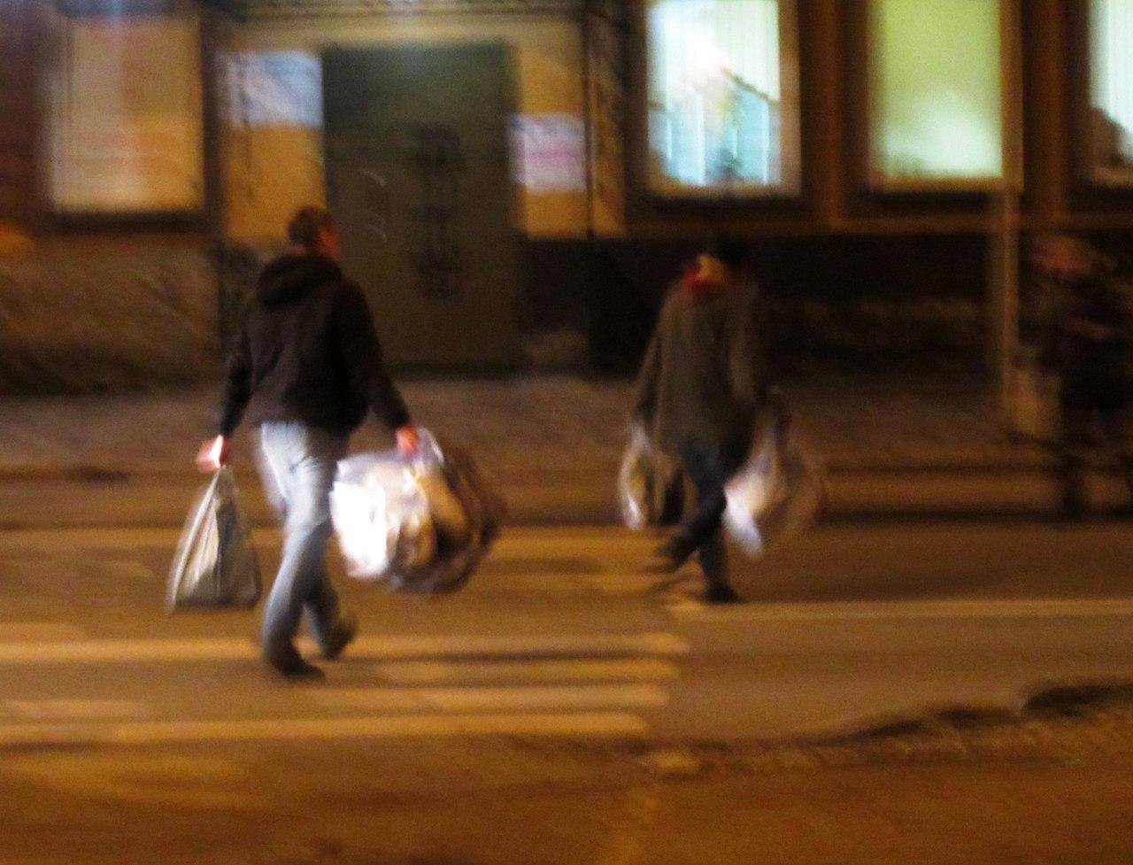 Субботник бездомных