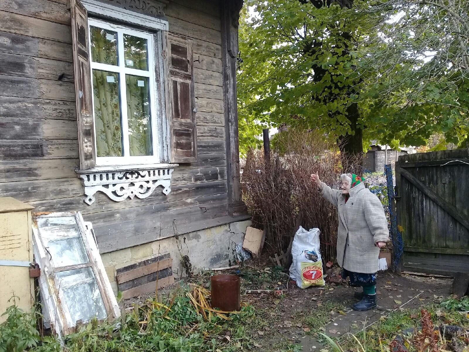 Акция фонда по сбору средств пенсионерке на окна принесла плоды - уже установлено два окна.