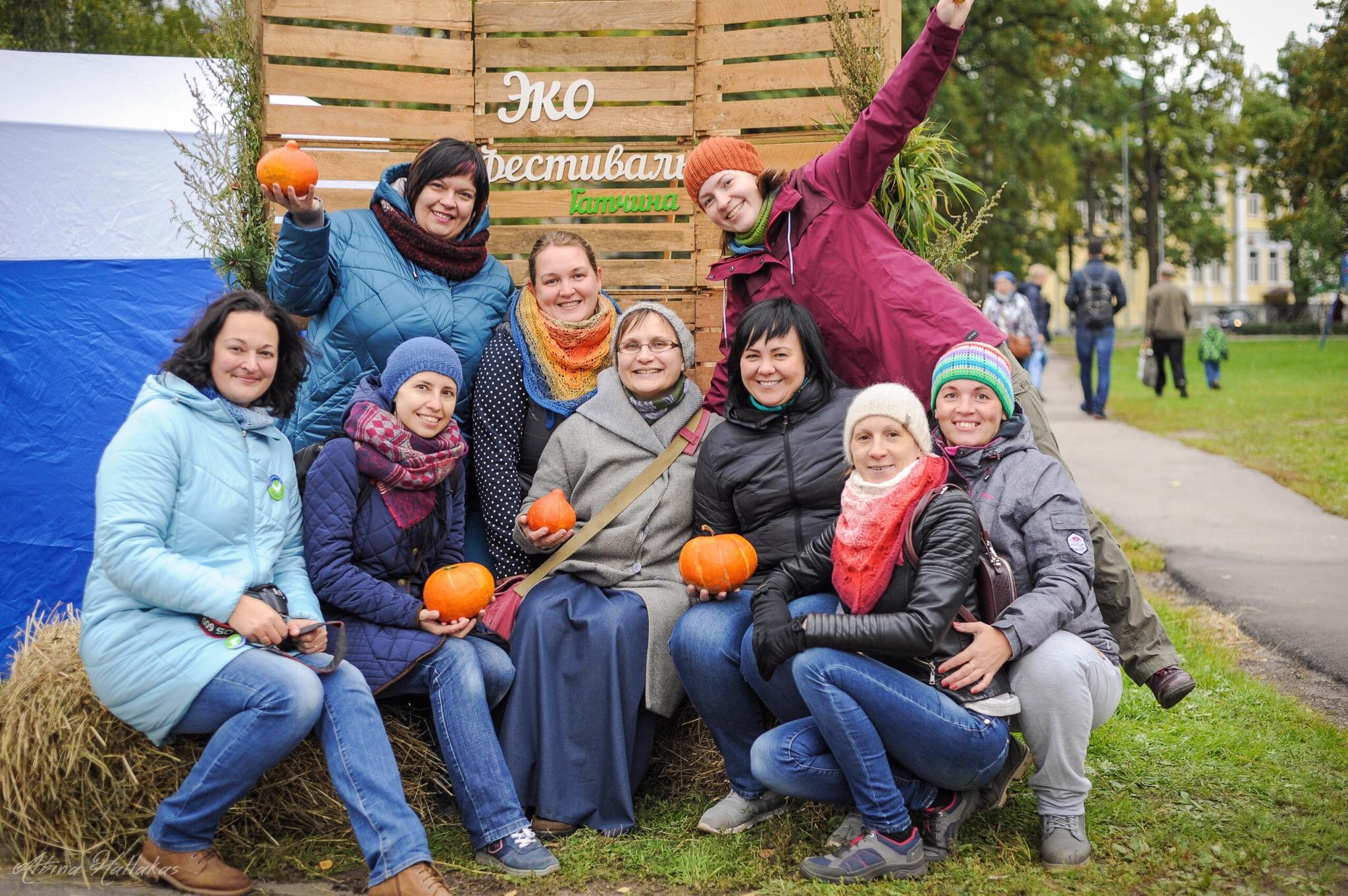 Гатчинская Хурма на первом экофесте в Гатчине
